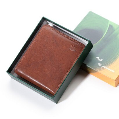 Golunski Utah Gents Bi-Fold Leather Wallet (cognac) 0