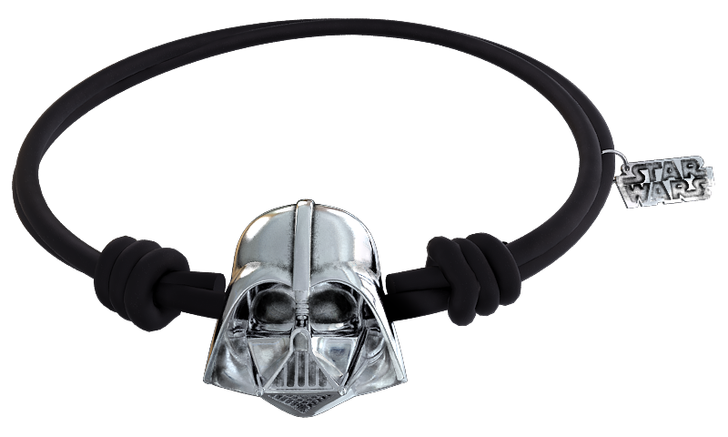 DARTH VARDER PULSERA CAUCHO (Producto oficial STAR WARS y LUCASFILM LTD.) 0