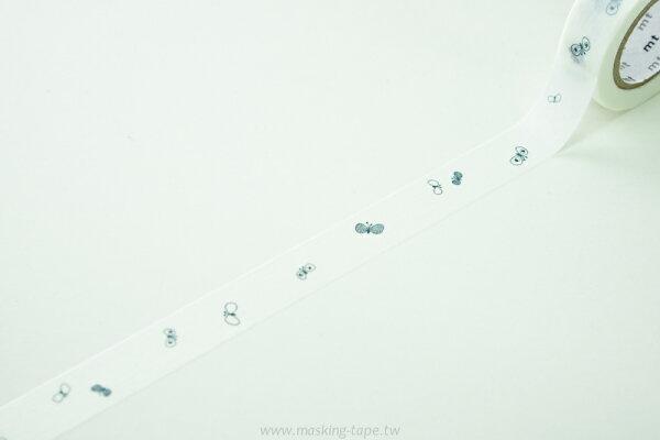 *小徑文化*日本和紙膠帶 mt mt_2012 AW 新柄 蝴碟 - 海軍藍 ( MTMINA13 )