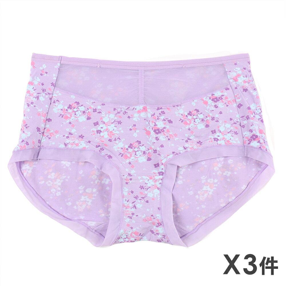 3件199免運【AJM】舒適網布三角褲3件組(隨機色) 0