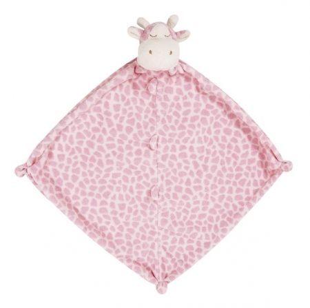 『121婦嬰用品館』美國Angel Dear 動物嬰兒安撫巾 長頸鹿(粉)AD1138(此商品售出不做退換) 0