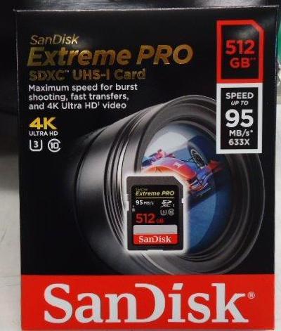 SanDisk Extreme PRO SDHC SDXC UHS~I U3 記憶卡  讀