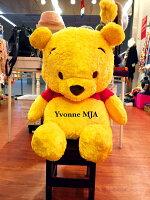 小熊維尼周邊商品推薦*Yvonne MJA美國代購*美國迪士尼Disney限量正品 超大 小熊維尼 娃娃