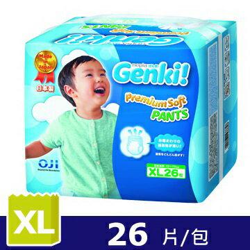 日本王子Genki褲型元氣褲XL(26片/包) - 限時優惠好康折扣