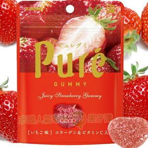 *即期促銷價*日本甘樂Pure 草莓軟糖 [JP404] 0