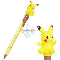 Pokemon:精靈寶可夢到神奇寶貝寶可夢皮卡丘自動鉛筆0.5mm轉頭公仔剪影寶貝球199472海渡