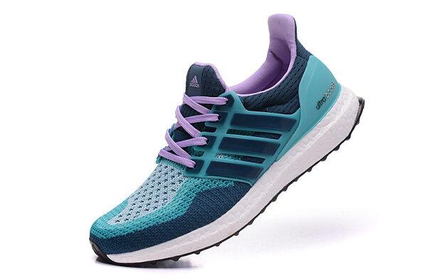 Adidas energy boost 3 針織系列女鞋 (深藍/水月/紫)36-39