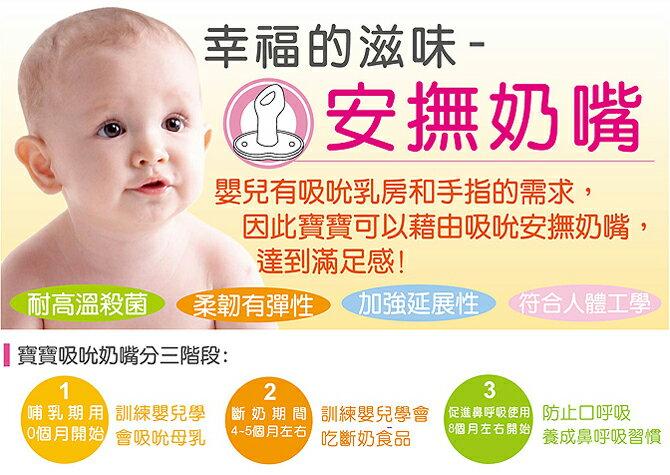 『121婦嬰用品館』辛巴 彩色安撫奶嘴(初生) 2