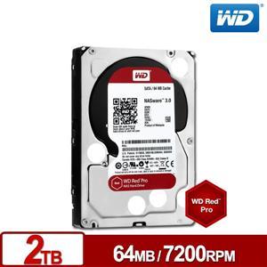 【DB購物】WD2001FFSX 旗艦紅標 2TB 3.5吋NAS硬碟~請先詢問庫存量