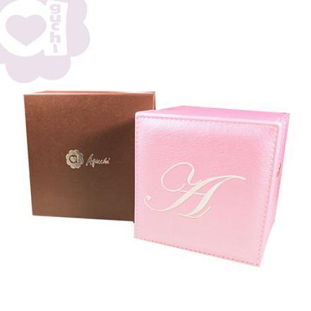 【Aguchi 亞古奇】皇家標記-優雅粉 珠寶盒(玩美精靈系列) 2