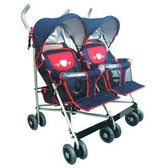 【奇買親子購物網】IAN BABY 雙人座並排手推車/台灣製