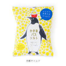 日本製 企鵝 刨冰感泡澡浴鹽 55g 溫和檸檬香 *夏日微風*