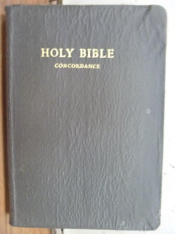 ~書寶 書T5/宗教_ICP~Holy Bible_Concordance