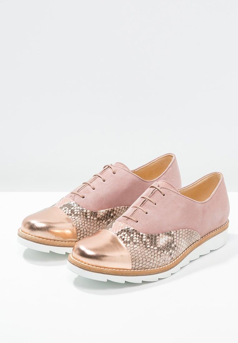 Gabor 動物紋拼接金屬休閒鞋 5