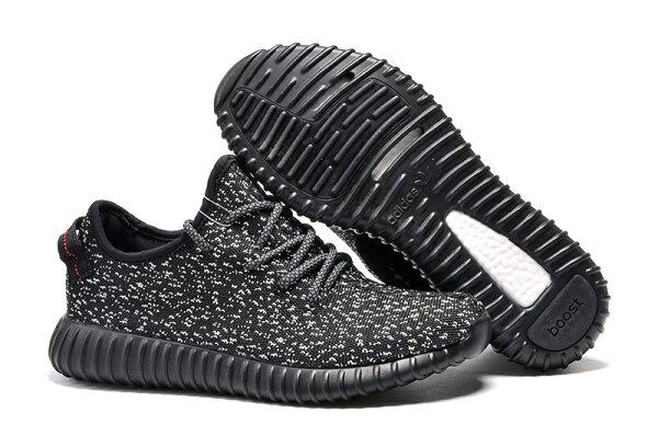Adidas Originals Yeezy Boost 350 男女情侶運動休閒鞋(黑白36-45)