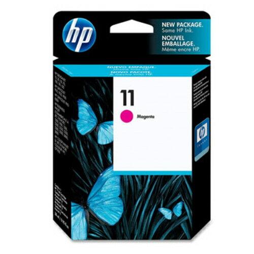 【HP 墨水匣】 C4837A  NO.11 紅色原廠墨水匣