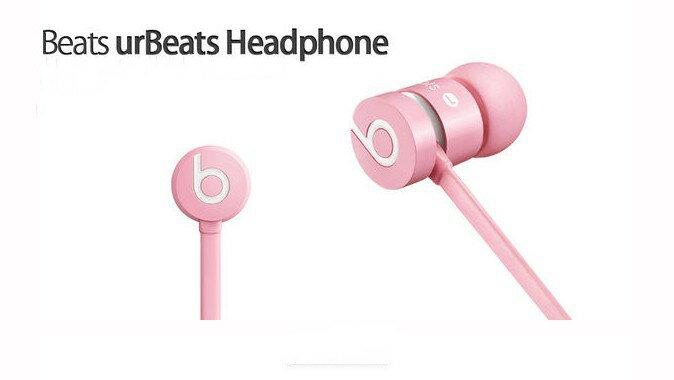 Beats urBeats In Ear Headphone 金屬機身 入耳式 耳機 繽紛色系 粉色 3