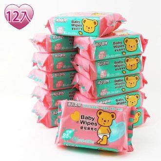 適膚克林嬰兒濕紙巾100抽12包