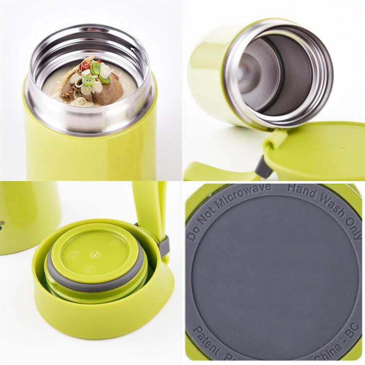 migo燜燒罐400ml 304不銹鋼內外 真空強效保溫  悶燒罐/燜燒壺/保溫飯盒 304不鏽鋼 1