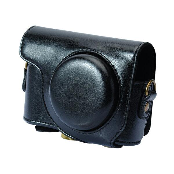 【和信嘉】CASIO ZR3600 ZR3500 可拆式相機皮套 (黑色) Kamera 復古相機包