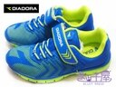 【巷子屋】義大利國寶鞋-DIADORA迪亞多納 男童KPU一體成型鯊跑鞋 [2056] 藍 超值價$498