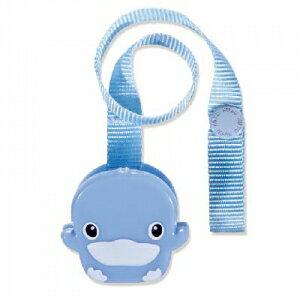 『121婦嬰用品館』KUKU 造型奶嘴帶夾( 粉 / 藍 ) 1