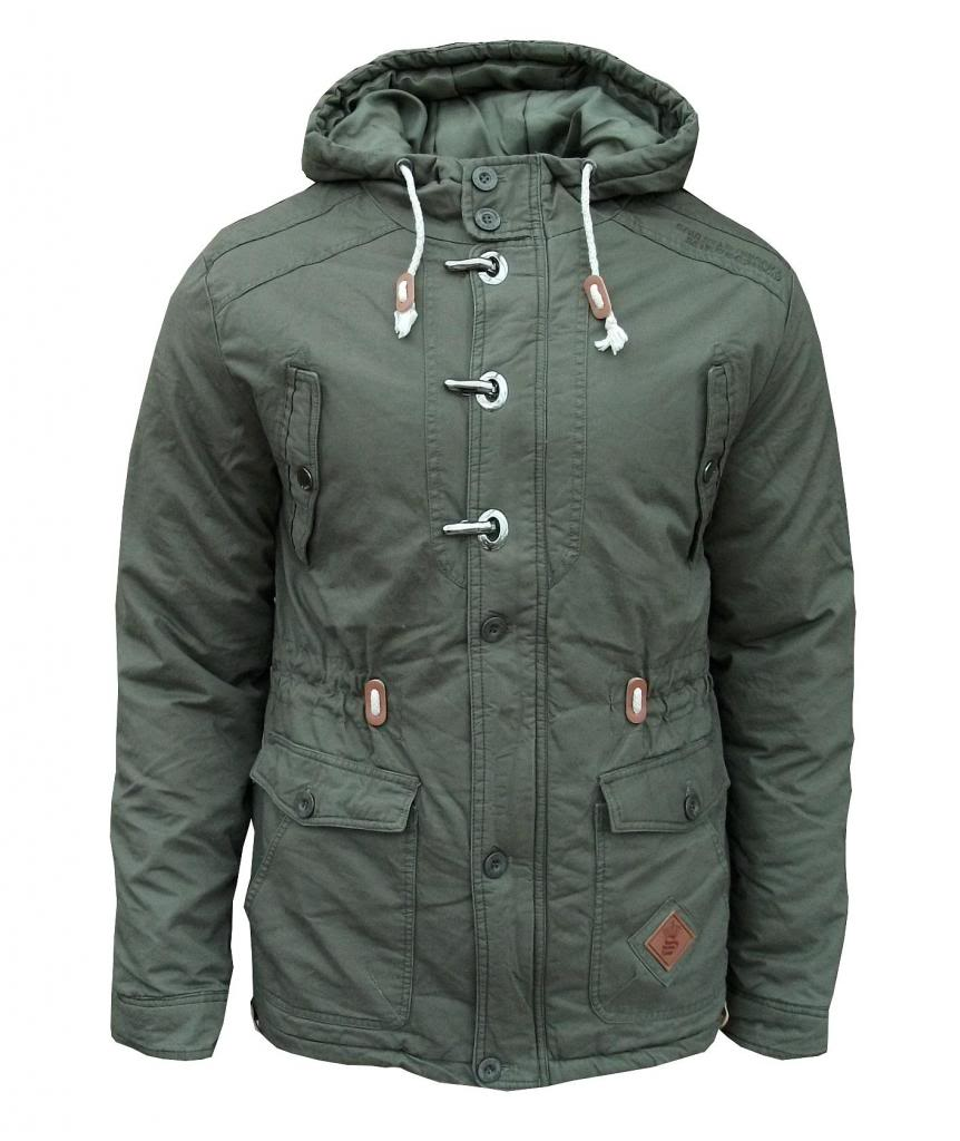 Soul Star Bombard Men's Casual Padded Winter Military