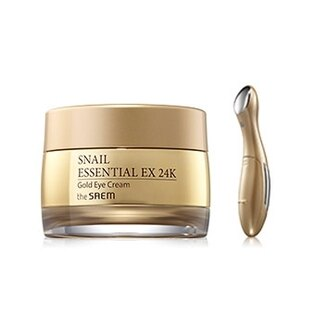 Snail Essential EX 24K黃金蝸牛眼霜套組 30ml+1ea Snail Essential EX 24K Gold Eye Cream Set【辰湘國際】