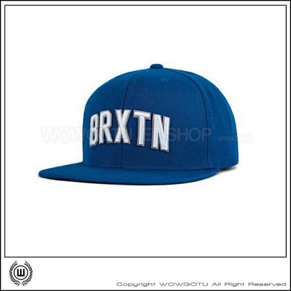 【 BRIXTON 】街頭流行棒球帽 HAMILTON 帽款-藍