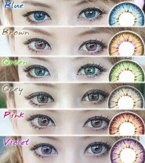 Promo Kosmetik dan Kecantikan Rakuten - softlens puffy 3 tone made in korea