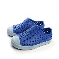 native 輕量懶人鞋、休閒防水鞋到native JEFFERSON CHILD 洞洞鞋 藍 小童 no306