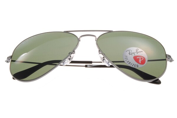 Ray Ban雷朋 槍色銀邊 太陽眼鏡 RB3025 偏光鏡 7