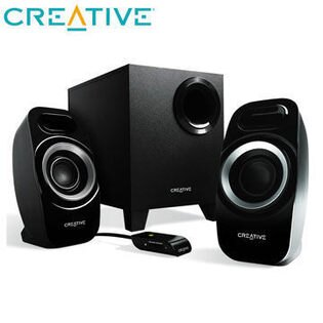 [nova成功3C]Creative Inspire T3300 2.1聲道喇叭