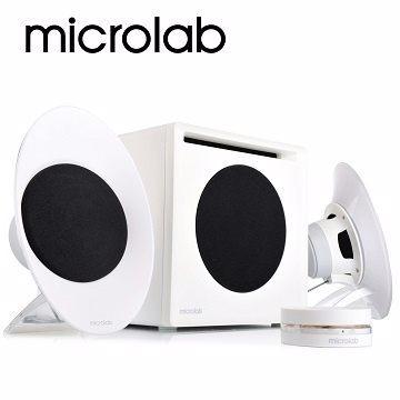 [NOVA成功3C] 【Microlab】FC50 三件式 2.1 聲道 數位臨場多媒體音箱系統 喔!看呢來