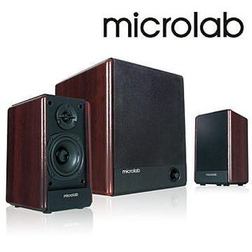 [NOVA成功3C] 【Microlab】FC-330 2.1經典美聲多媒體喇叭   喔!看呢來