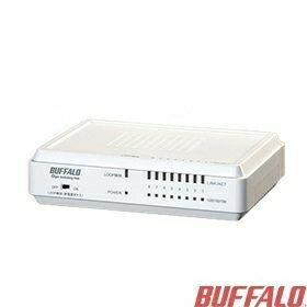 [NOVA成功3C]Buffalo LSW4-GT-8EP/W-TW 1000/100/10M 8埠交換器  喔!看呢來
