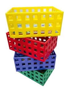 【豪上豪】吉米小積木盒K608/吉米熊系列/置物籃/盒子/收納盒(不挑色)