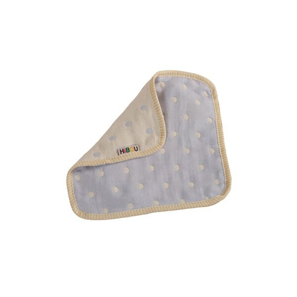 ollobaby瓦吉司 - HiBOU喜福 - 六層紗四方萬用巾 (水玉紫) 0