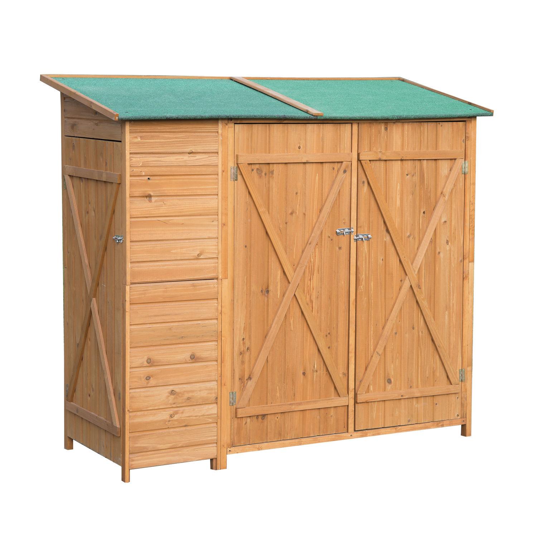 Comprar puertas madera jardin compara precios en for Caseta herramientas jardin