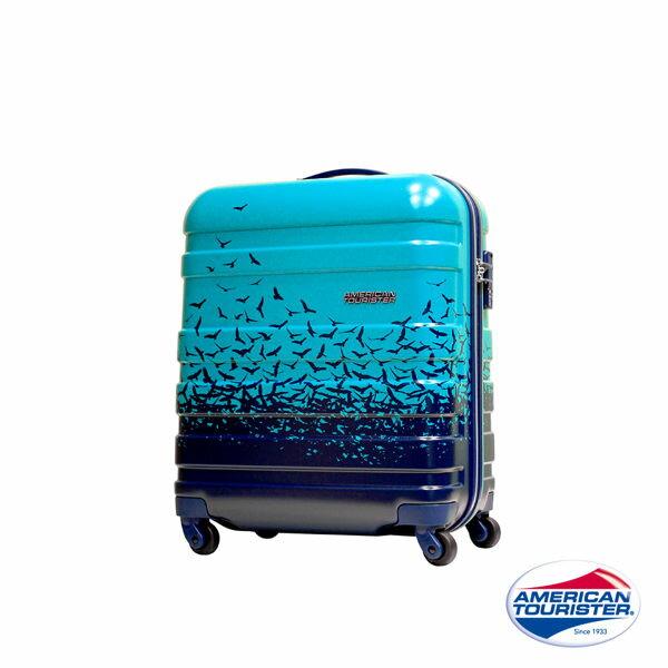【加賀皮件】 American Tourister美國旅行者 2016限量版 FLY AWAY 飛鳥印花 18吋 登機箱 旅行箱 31T
