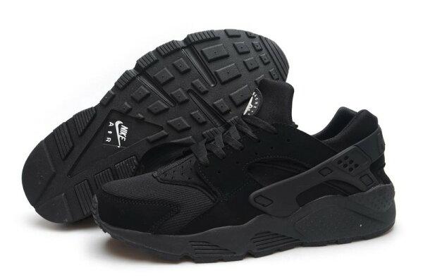 Nike Air Huarache 黑武士 男女情侶鞋 慢跑鞋 運動鞋