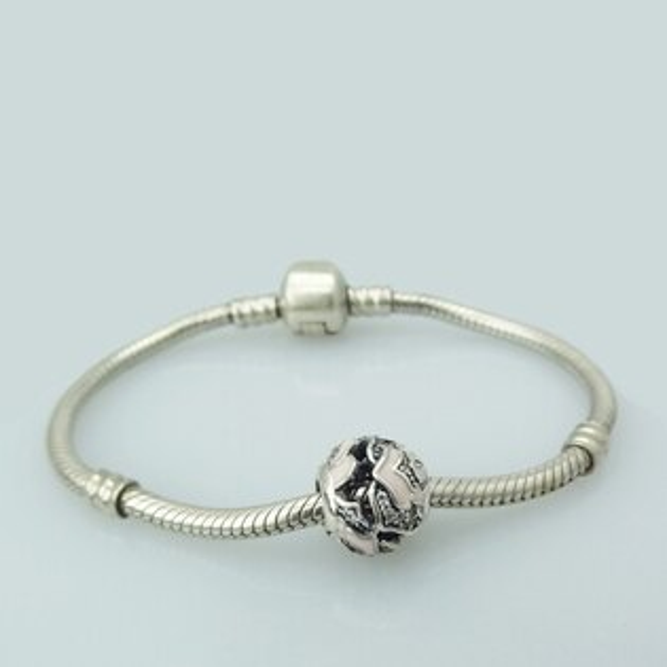 5217SHOPPING charms 925純銀墜子 墜飾 純銀串珠 手鍊 Z17
