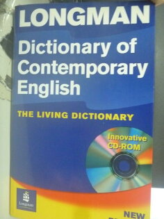 【書寶二手書T1╱字典_ZIB】Longman Dictionary of Contemporary English