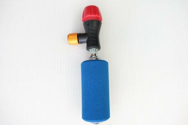 【意生】台灣製公司貨 X-FREE CO2打氣筒+鋼瓶 組包 充氣筒 美法式通用CO2快速充氣組 鎖牙式