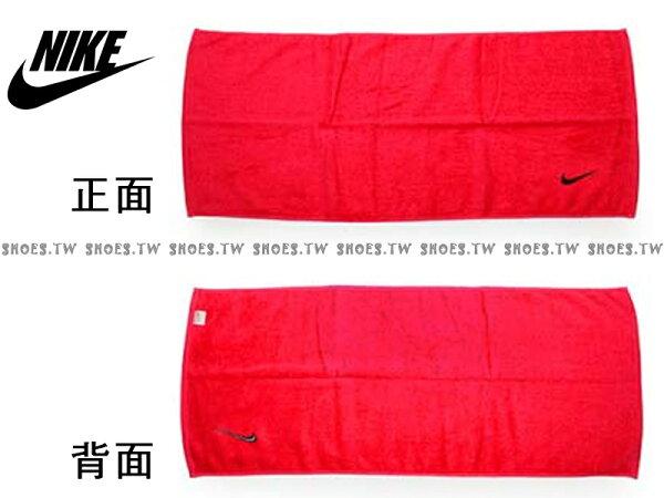 Shoestw【AC9637-631】NIKE毛巾 運動毛巾 盒裝 黑桃紅 純棉 2016新款