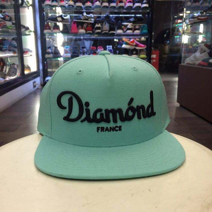 BEETLE PLUS 西門町 全新 DIAMOND SUPPLY CHAMPAGNE CAP TIFFANY綠 帽 D14DHA18DBU DA-17 0