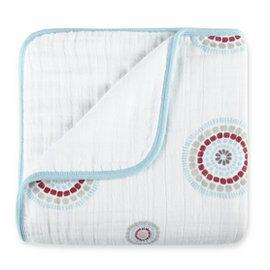 【淘氣寶寶】美國 Aden + Anais Dream Blankets 四層厚毯(勇敢連恩6040)(公司貨●品質有保證)★英國喬治小王子御用包巾品牌