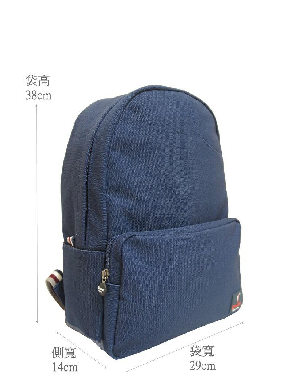 CORRE【CG71068】帆布經典後背包共四色 紅/藍/桃紅/橘 2