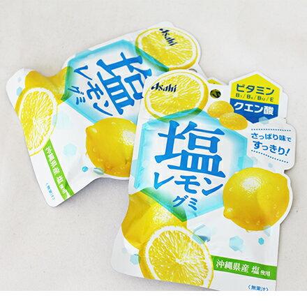 【敵富朗超巿】ASAHI 鹽味檸檬軟糖 45g - 限時優惠好康折扣
