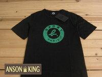 agnès b.到[Anson king]outlet國外代購 agnes b.sport b 綠影 短袖 圓領 男款 T恤 黑